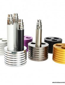 Vape Tray Triple Holder, holds up to 3 regular tanks or 3 regular batteries or a combination of both
