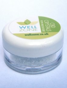 well zone CBD 99.99% Pure CBD Isolate Crystals